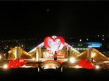 2004年春 横浜赤れんが倉庫 vol.1(夜景) Flower Performance 2004